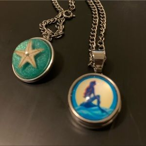 The little mermaid necklace/mermaid necklace